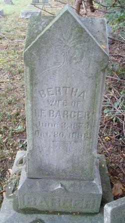 Bertha <i>Green</i> Barger