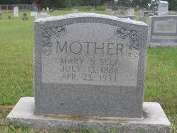 Mary Minerva <i>Sanders</i> Self