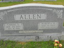Roberta <i>Hicks</i> Allen