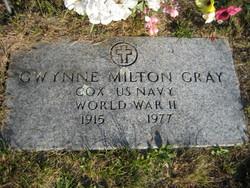 Gwynne M Gray