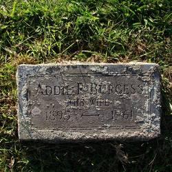 Addie P <i>Burgess</i> Baker