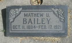 Matthew Urie Bailey