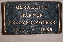 Geraldine <i>Smith Wolf</i> Harmon