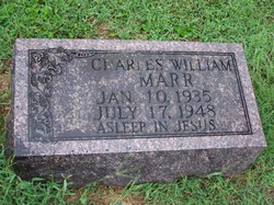 Charles William Billy Marr