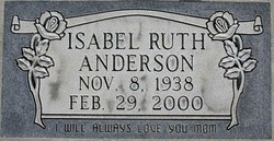 Isabel Ruth Anderson