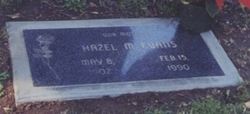 Hazel Marie <i>Ewing</i> Evans
