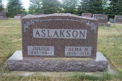 Alma Marie <i>Moen</i> Aslakson