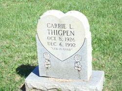 Carrie L Thigpen