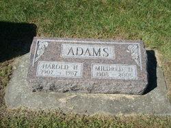 Mildred D <i>Traxler</i> Adams