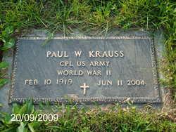 Paul W. Krauss