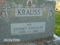 Stephen Randalph Krauss