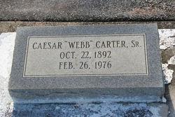 Caesar Webb Carter, Sr