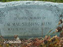 M. Mae <i>Stebbing</i> Keene