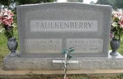 Martha <i>Sturgis</i> Faulkenberry