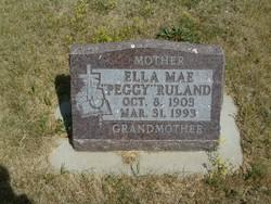 Ella Mae Peggy <i>O'Neil</i> Ruland