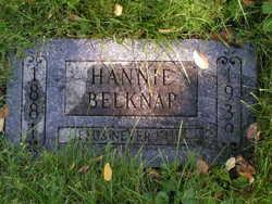 Hannah Ethel Hannie <i>Pepper</i> Belknap