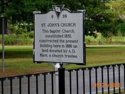 Saint Johns Baptist Churchyard