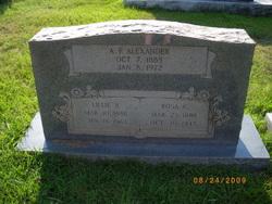 Rosabel <i>Griffith</i> Alexander