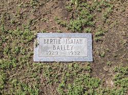 Bertie Isaiah Bailey