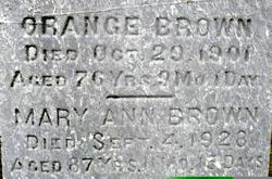 Mary Ann <i>Lillie</i> Brown