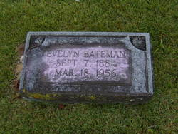 Evelyn Ethel <i>Brogdon</i> Bateman