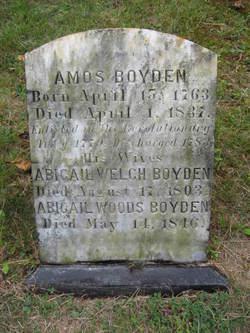 Abigail <i>Welch</i> Boyden