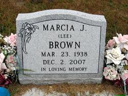 Marcia J. <i>Lee</i> Brown