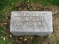 Lloyd Lundy Simpson