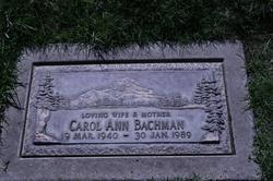 Carol Ann <i>Tracey</i> Bachman