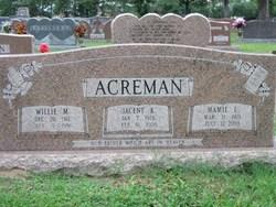 Willie Monroe Acreman