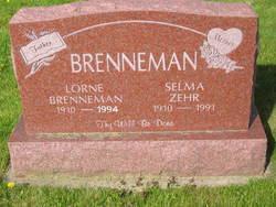 Selma <i>Zehr</i> Brenneman