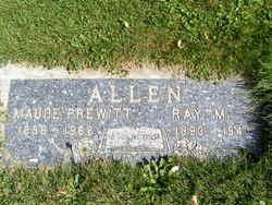 Maude <i>Prewitt</i> Allen