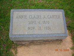 Annie Claire <i>Amos</i> Carter