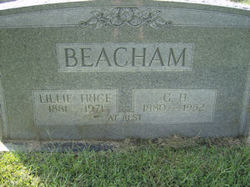 Lillie Elizabeth <i>Trice</i> Beacham