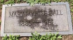 Mary Myrtle <i>Fletcher</i> Ball
