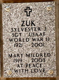 Mary Mildred Zuk