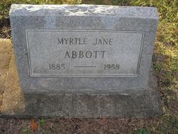 Myrtle Jane Abbott