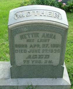 Hettie Anna <i>Leiby</i> Dreibelbis