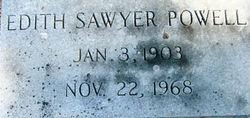 Edith <i>Sawyer</i> Powell