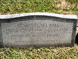 Anne Stuart <i>Barnwell</i> Ball