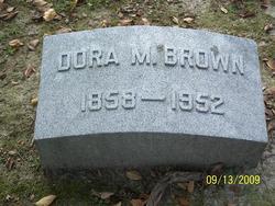 Dora M Brown