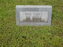 Mae <i>Haley</i> Casey