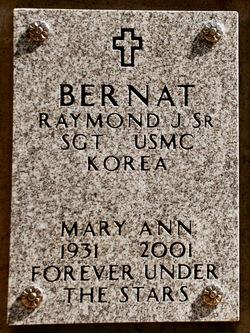 Mary Ann T <i>Johnson</i> Bernat