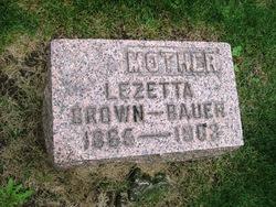 Lezetta <i>Brown</i> Bauer