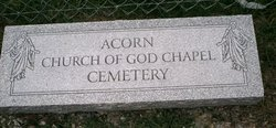 Acorn Church Of God Chapel Cemetery