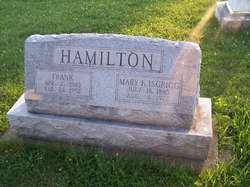 Mary Frances Midge <i>Isgrigg</i> Hamilton
