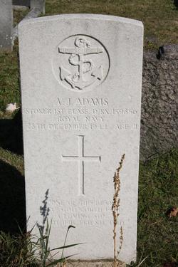 Stoker 1st Class Alfred J Adams