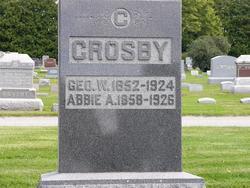 Abigail Alvira <i>Warren</i> Crosby