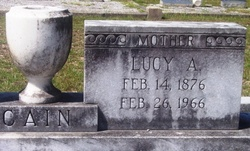 Lucy Ann Grandma Cain <i>Bell</i> Cain