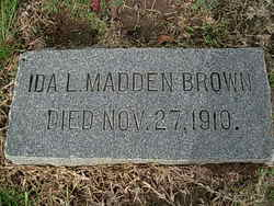 Ida L <i>Madden</i> Brown